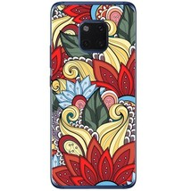 Flowers patterns doodles Huawei Mate 20 Pro Phone Case - $15.99
