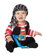 NEW for 2018 - Baby Infant Pirate Costume Size 12-18 Months - SHIPS ON 8... - £38.01 GBP