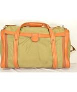 Hartmann luggage bag duffle carry on Vtg nylon leather faux leather trim... - $49.49
