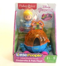NEW Fisher Price Little People DISNEY CINDERELLA & PALS Float Easter Spring - $13.93