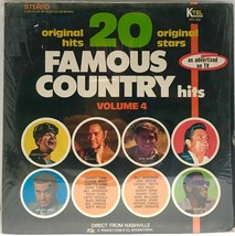 Lynn Tubbs Cash Jones 20 Famous Country Hits Volume 4 LP Vinyl 33 Record... - $14.84