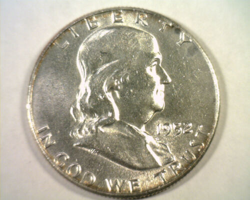 Primary image for 1952 FRANKLIN HALF DOLLAR CHOICE ABOUT UNCIRCULATED CH. AU NICE ORIGINAL COIN