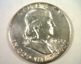 1952 FRANKLIN HALF DOLLAR CHOICE ABOUT UNCIRCULATED CH. AU NICE ORIGINAL... - $14.00