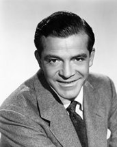 Dana Andrews 1952 Smiling Studio Portrait 16X20 Canvas Giclee - $69.99