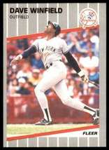 Dave Winfield, Yankees, Fleer 1989, #274 - $1.25