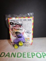 Burger King Kids Club Disney Oliver & Company Tito Mouse in Purple Car Toy New - $9.89