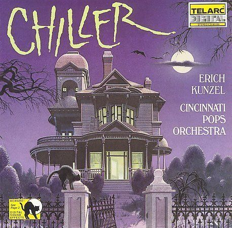 Chiller by Erich Kunzel (Conductor) (CD, Aug-1989, Telarc Distribution)