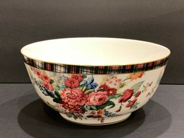 "Ralph Lauren Wedgwood Hampton Floral 9 3/4"""" Salad Serving Bowl - $177.21"