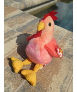 Beanie Babies Baby TY Collectible Strut the Rooster 1996 Retired - $3.50