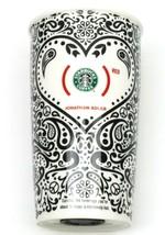 STARBUCKS Ltd Ed Jonathan Adler Product Red 12 oz Coffee Tumbler Travel Mug Cup - $35.99