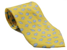 Seashell Beach Starfish Clam Oyster Saltwater Tropical Necktie Novelty - $12.75