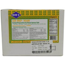 Instant Sponge Cake (Genoise) Mix, Vegan - 2 boxes - 11 lbs ea - $139.27