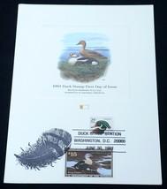 USA Scott #RW58 #2484 Migratory Bird Hunting Duck 1991 Stamp FDC First D... - $19.80