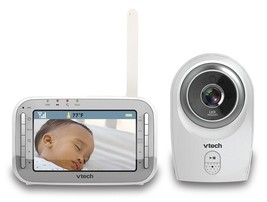 New OPEN/DISTRESS BOX! VTech VM341 Safe And Sound Video Baby Monitor Wit... - $82.18