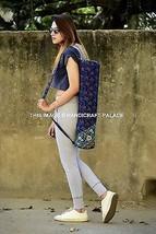 Indian Yoga Mat Carrying Cotton Ethnic Throw Bag Cross Body Sports Gym H... - $266,59 MXN