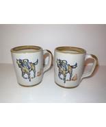 Louisville Stoneware Set of Two (2) Horse Mug Racing Kentucky 10oz - $35.00