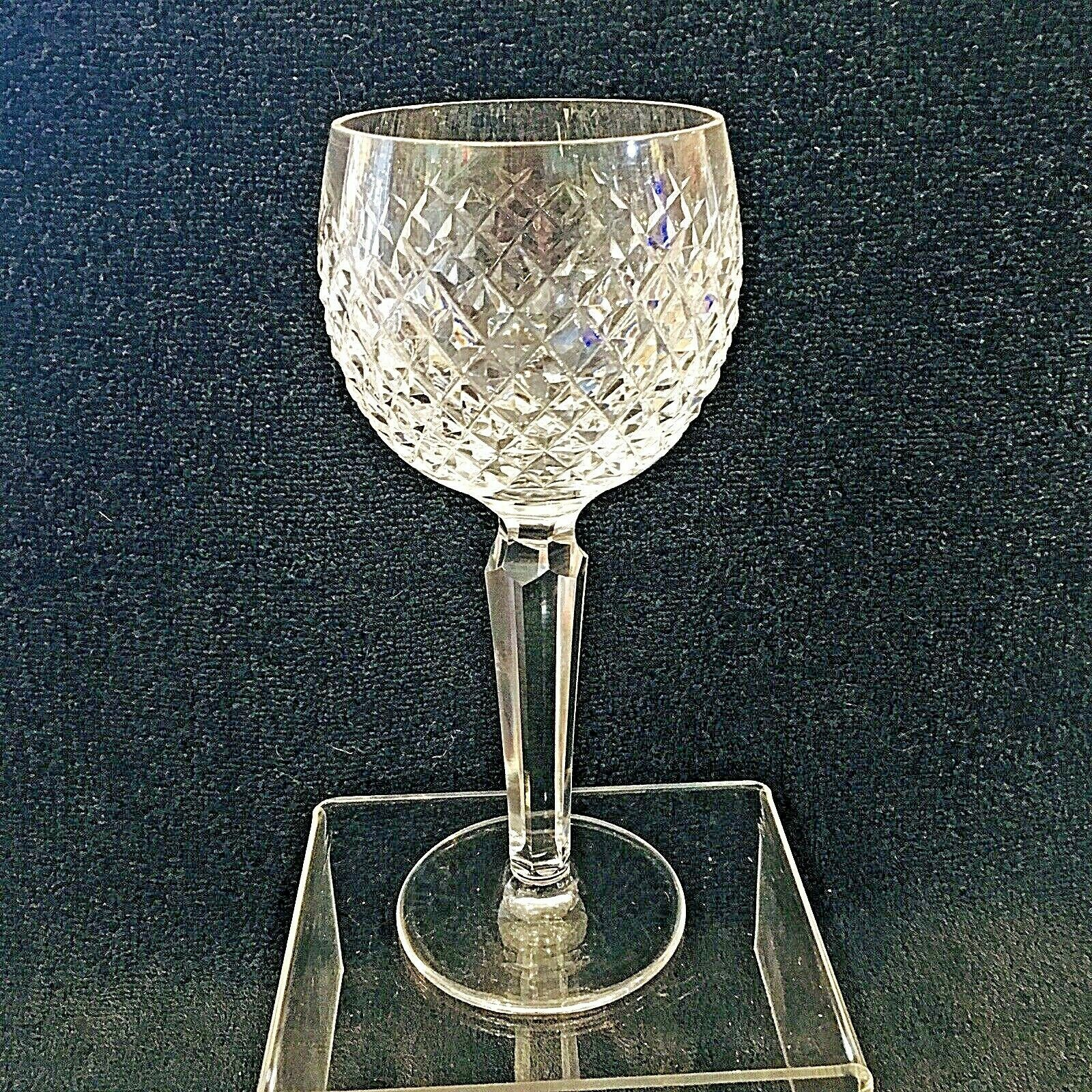 Primary image for Older Waterford Crystal Alana Wine Tall Excellent Shape 7 1/2""