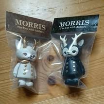Morris White and Black set of 2 MEDICOM TOY Kaori Hinata Sofubi - $224.13