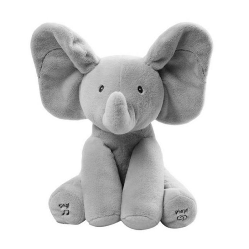 Baby elephant peek a boo pal flash toy
