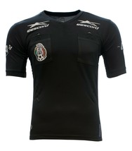 Authentic Official eescord Mexico Liga MX Referee Jersey Playera Arbitro  - $79.99