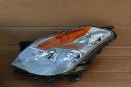 08-09 Nissan Altima 3.5 Coupe Xenon Headlight Head Light Lamps Set L&R POLISHED image 2