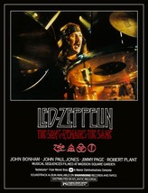 "Led Zeppelin ""The Song Remains The Same"" Movie Stand-Up Display - John B... - $15.99"