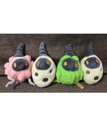 4x Pokemon Small Burmies - Plant, Sandy, & Trash Collectible Plush Lot - $84.15