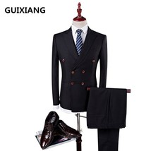 2017 autumn New style elastic wool wedding suits men,blazer men,wedding ... - $143.10