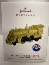 Hallmark 2019 Lionel 1001 Scout Locomotive Gold Ltd Ed Train NIB Keepsak... - $19.75