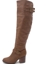 Material Girl Modiana Size US 6.5 M (B) EU 37 Almond Toe Knee High Fashion Boots