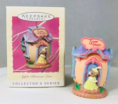 Hallmark Sweet Shoppe Apple Blossom Lane Spring Ornament 1997 3rd in Series - $9.74