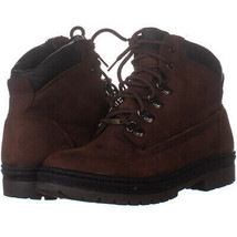 Timberland 4599 Lace Up Ankle Boots, Dark Brown 529, Dark Brown, 10 US - $51.83