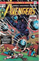 The Avengers Comic Book #137, Marvel Comics Group 1975 VERY FINE/NEAR MINT - $24.57