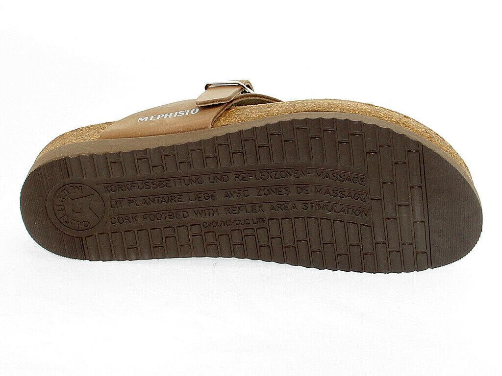 Sandalo basso MEPHISTO HELEN SP C in pelle cammello - Scarpe Donna