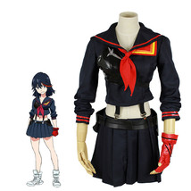 KILL la KILL Matoi Ryuuko Sailor Suit Dress Uniform Anime Cosplay Costumes - $45.99