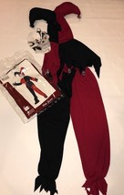 Boys Evil Jester Halloween Costume Boys Size XL 12 14 California Costume - $14.99