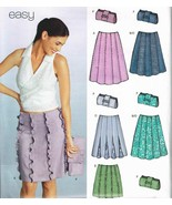 New Look Sewing Pattern 6248 Skirt and Handbag Size 8-18 - $9.74