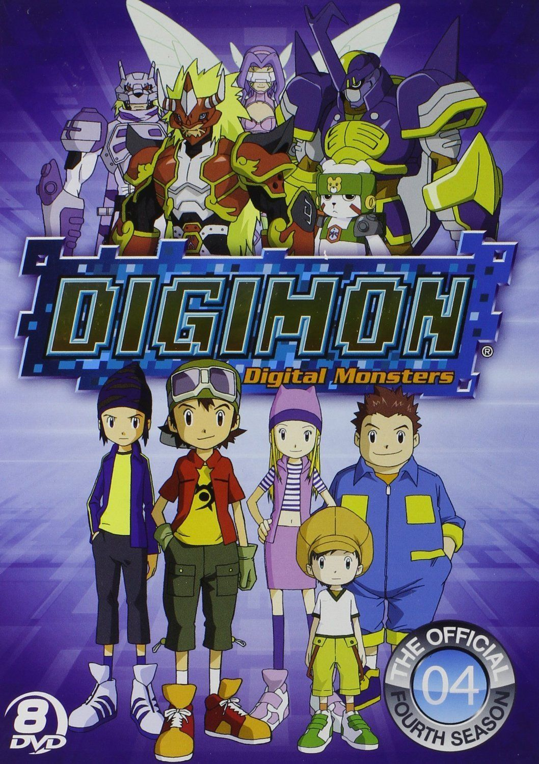 Digimon Frontier DVD Set 4th Fourth Season 4 Four TV Complete Series Anime Show