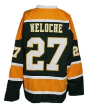 Any Name Number California Golden Seals Retro Hockey Meloche Jersey Any Size image 5