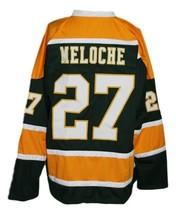 Gilles Meloche #27 California Golden Seals Retro Hockey Jersey Any Size image 4