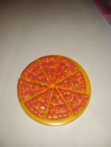 Barbie Mattel Doll Size Pizza Unique 8 Slice mini pizza - $16.82