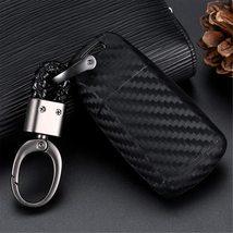 M.JVisun Soft Silicone Rubber Carbon Fiber Texture Cover Protector for Audi, Car image 3