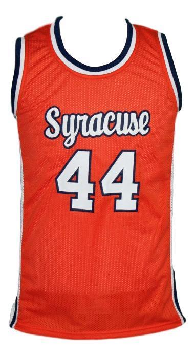 Derrick Coleman 44 Custom College Basketball Jersey New Sewn Orange