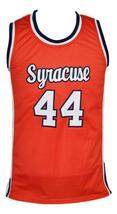 Derrick Coleman #44 Custom College Basketball Jersey New Sewn Orange Any Size image 1