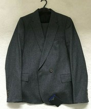 Paul Smith PS Steel Grey Single button Single Breasted Suit 40/50 - $369.65