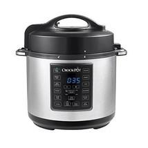 6 Qt 8 in 1 Slow Cooker Crock Pot Pressure Cooking Steamer Stainless Steel - $1.789,27 MXN