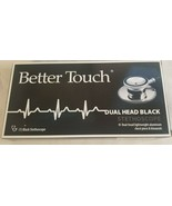 Better Touch - Dual Head - Black Stethoscope - NEW - FREE SHIPPING in USA - $7.79