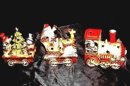 Ceramic Train Set AA18-1302 Vintage (3 Pieces)