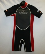 Execute Wet Suit Youth Size Large red and black - $19.79