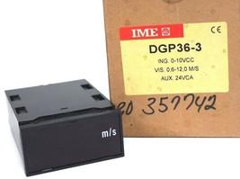 NIB IME DGP36-3 DIGITAL DISPLAY DGP363, ING. 0-10VCC, AUX. 24VCA